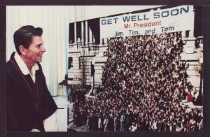 President Ronald Get Well Post Card 3597
