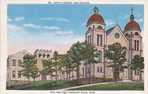 Saint Johns School And Church Hot Springs National Park Arkansas