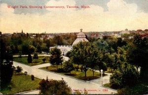 Washington Tacoma Wright Park Showing Conservatory