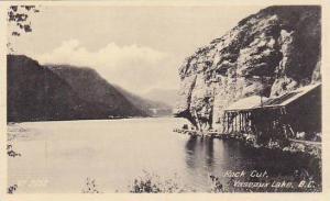 Rock Cut , Vaseaux Lake , B.C. , Canada , 20-30s