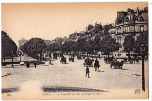 Paris - Le Rond-Point des Champs-Elysees