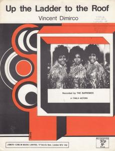 Up The Ladder To The Roof The Supremes 1970s Sheet Music