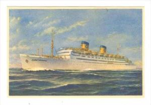 Steamer, Home Lines S/S Queen Frederica Ex S/S Atlantic, 1930-1940s
