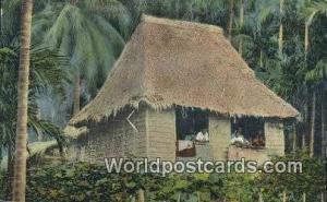 Philippines, Pilipinas Native Nipa House Manila Native Nipa House