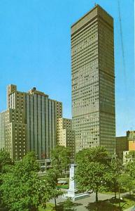 Canada - Quebec, Montreal, Dominion Square Park, Sheraton Laurentien Hotel & ...