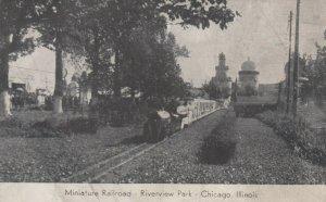 CHICAGO, Illinois, 1900-10s ; Miniature Railroad, Riverview Park