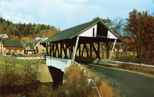 VT - Lyndon. Covered Bridge