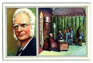 Bjornson, Norway, Famous World Poets, Echte Wagner German Trade Card *VT31T