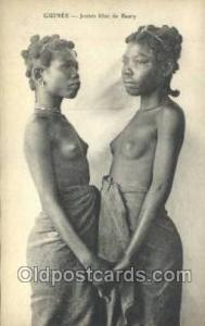 African Nude Nudes Postcard Post Card