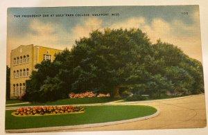 The Friendship Oak at Gulf Park College, Gulfport, Ms
