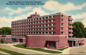 Michigan East Lansing Kellog Center Michigan State College Curteich