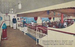 Edgewater Beach Yacht Club Edgewater Beach Hotel Chicago Illinois