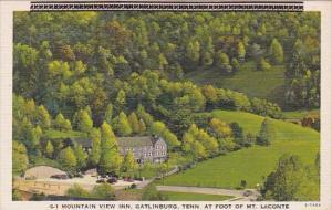 Tennessee Gatlinburg Mountain View Inn At Foot Of Mountain Leconte