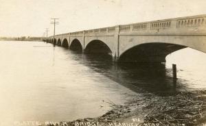 NE - Kearney. Platte River Bridge  *RPPC