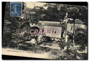 Postcard Old water mill Romazy Moulin du Gue Morin