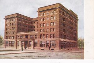 Iowa Davenport The Davenport Hotel