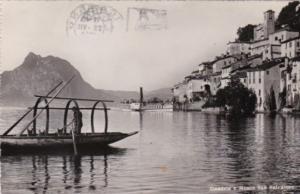 Switzerland Gandria e Monte San Salvatore 1960 Photo