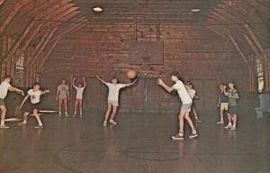 SPOFFORD, New Hampshire,1940-60s; Boys Basketball, Cashman Hall, Camp Notre Dame