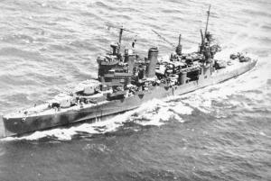 U.S.S. Astoria CA 34  Launched 1933, Was at Pearl Harbor but left on Decemb...