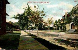 Virginia Norfolk Ghent Scene Street View