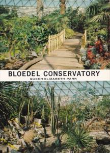 Canada British Columbia Vancouver Bloedel Conservatory Plants & Flowers Queen...