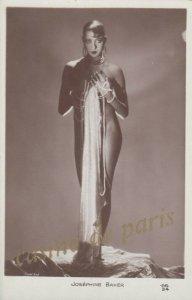 RP: Josephine Baker , Show Girl pose, Casino de Paris , 1920s