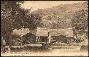 mauritius, PORT-LOUIS, Vicinity with Native Houses (1910s)
