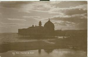 Nice, Coucher de Soleil, early 1900s unused Real Photo