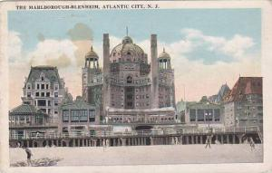 New Jersey Atlantic City The Marlborough Blenheim 1921