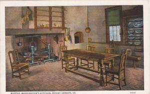 Virginia Mount Vernon Martha Washington's Kitchen Curteich