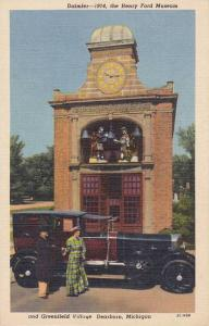Car , Sir John Bennett Clock Tower, Daimler, The Henry Ford Museum & Greenfie...