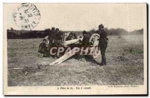 Old Postcard Militaria L & # 75 Piece French 39artillerie fire at will