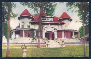 Beyer Home Winona Lake IN used c1910