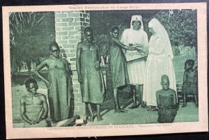 Mint Belgian Congo Real Picture Postcard Dominican Mission Of Niangara