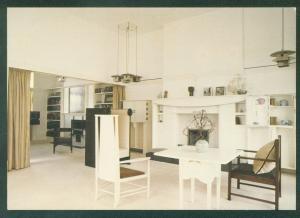 MACKINTOSH HOUSE Drawing Room University of Glasgow SCOTLAND Postcard