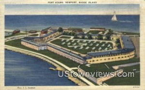 Fort Adams - Newport, Rhode Island