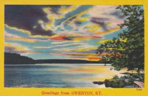 Kentucky Greetings From Owenton 1952