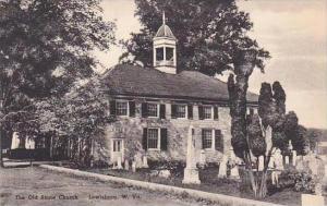 West Virginia Lewisburg The Old Stone Church Albertype