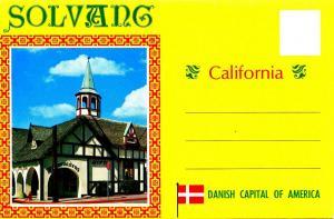 Folder -  California, Solvang (12 views + covers)