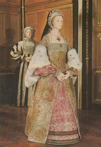 Anne Of Cleves Henry VIII Costume The Six Wives Of BBC TV Show Postcard