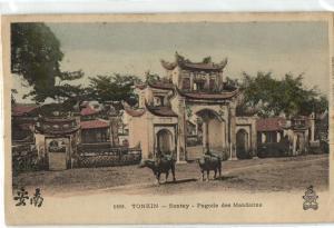 CPA Vietnam Indochine Tonkin-Sontay Pagode des Mandarins (35440)