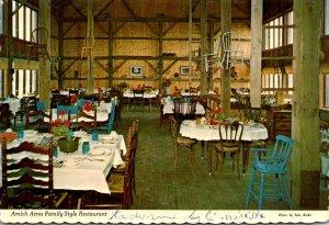 Indiana Nappanee Amish Acres Family Style Restaurant 1974