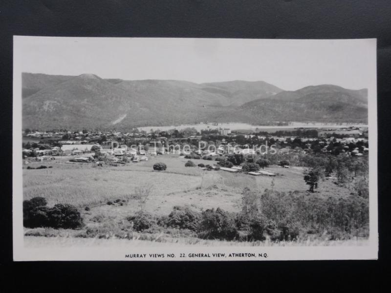 Australia Queensland ATHERTON, GENERAL VIEW - Old RP Postcard by Murray No.22