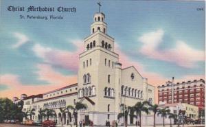 Florida St Petersburg Christ Methodist Church 1961