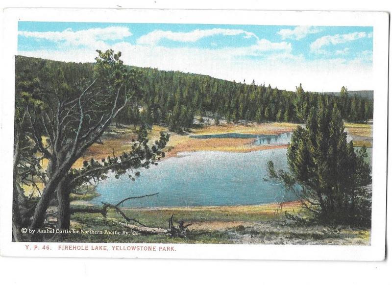 Firehole Lake Yellowstone National Park Wyoming