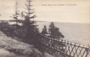 Maine Castine With Islesboro In the Distance Artvue