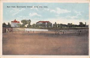 Sioux City IA~Morningside College~Bass Field~Baseball Diamond~Now Softball~1920s