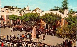 Old Towne of St. George Vintage Postcard Caribbean 1970s