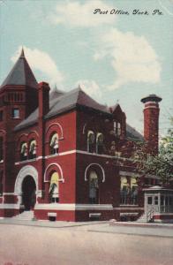 YORK, Pennsylvania, PU-1911; Post Office