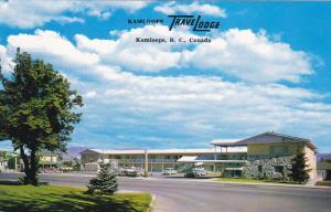 Approach to Kamloops Travel Lodge , KAMLOOPS , B.C. , Canada , 40-60s